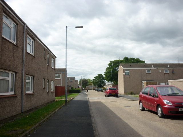 Wimpey No Fines houses on Sweet Dews Grove