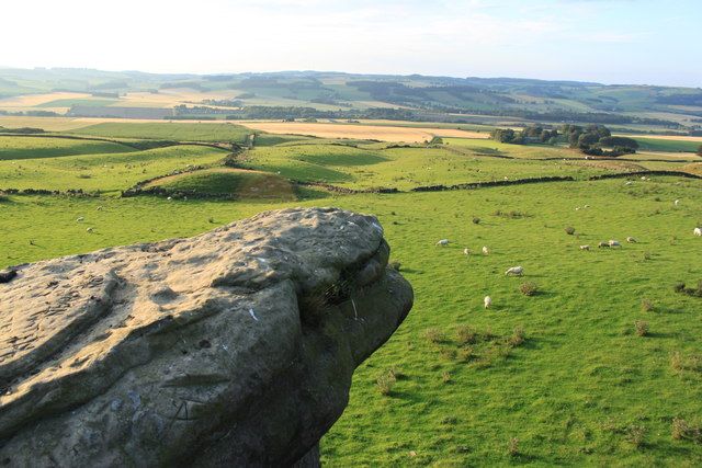Grazing land at the Bunnet Stane