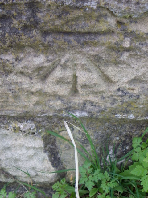 Bench Mark near Howick