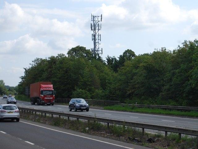 Telecommunication Mast by the A14