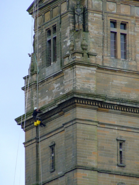Steeplejack on the Victoria Tower