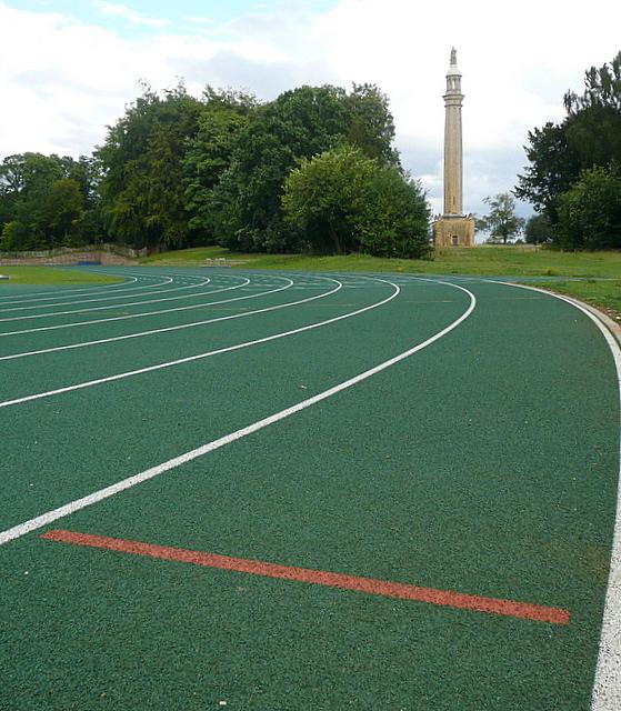 Stowe Park, athletics track