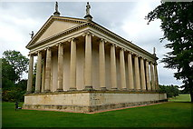SP6737 : Stowe Park, Temple of Concord and Victory by Graham Horn