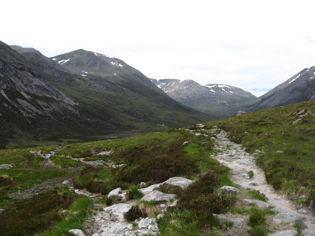 The track tae Corrour Bothy
