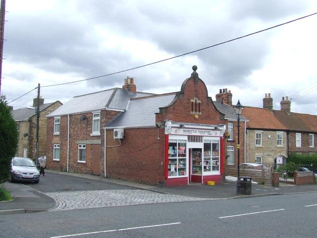 Local shop in Newbottle