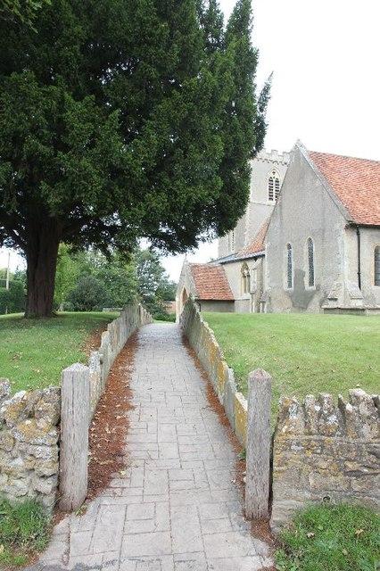 Second path to St Matthew