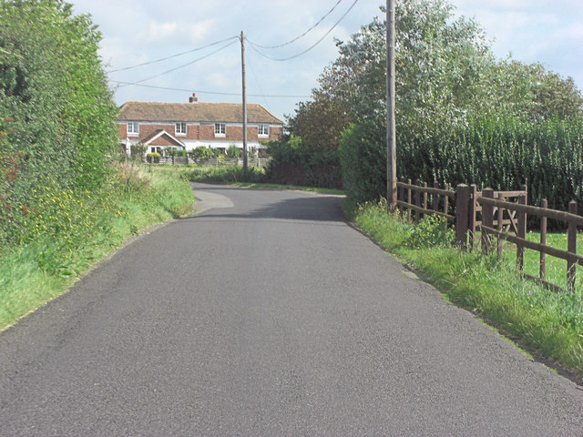 St Mary's Road south of Winford Bridge