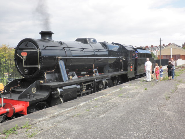 Turkish Railways 8F, at Barry Island station