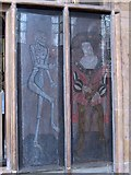 SK7953 : St Mary Magdalene Church, Newark - Early 16th century painted panels by Neil Theasby