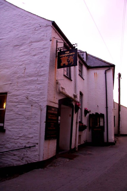 The Golden Lion on Fore Street