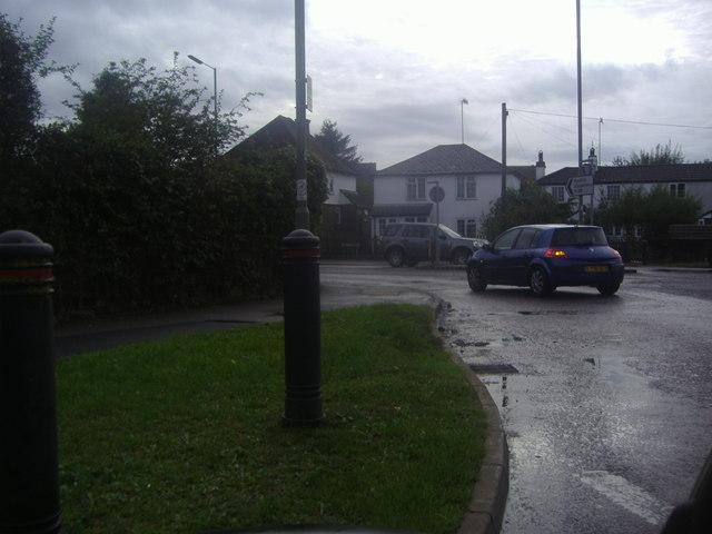 Roundabout on the A25, Godstone