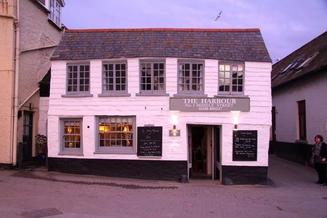 The Harbour restaurant in Port Isaac