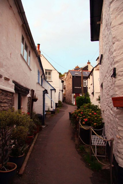 Dolphin Street in Port Isaac