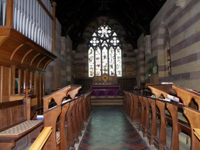 Interior, Church of the Holy Trinity