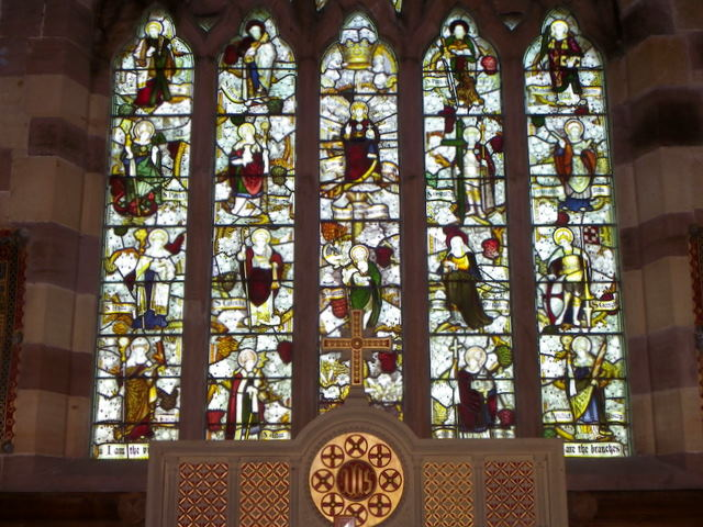 East window, Church of the Holy Trinity