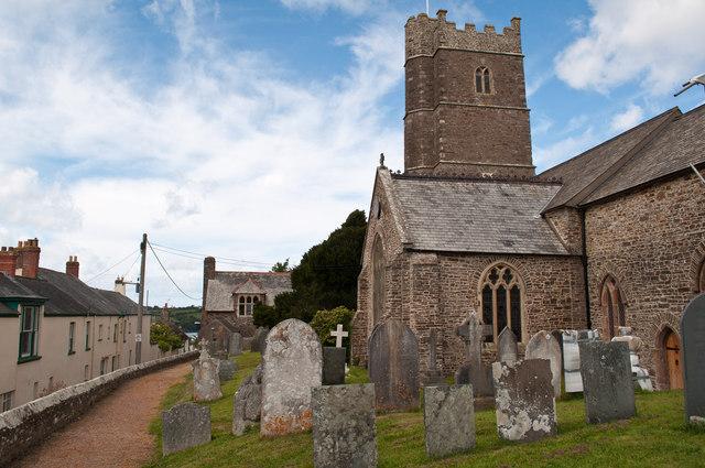 St Peter's Church opposite Torr House in Westleigh