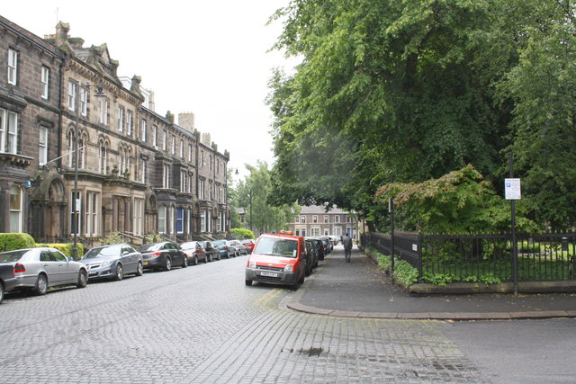 Alfred Street South and north side of Portland Square