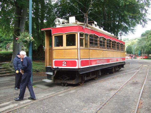 No. 2 Tramcar at Laxey