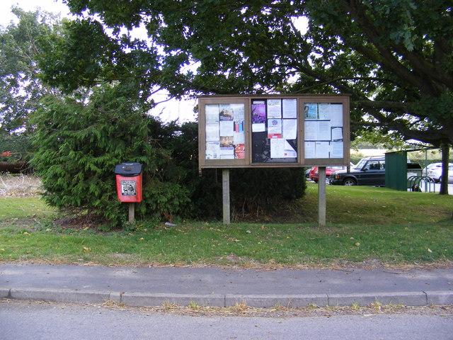 Otley Village Notice Board