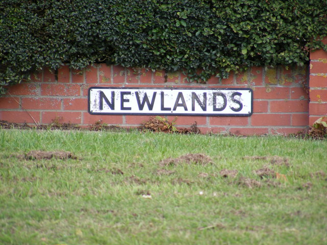 Newlands sign