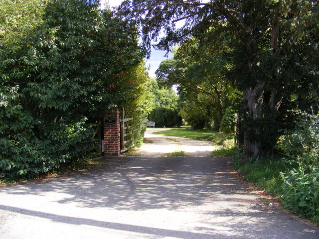The Entrance to Two Hoots Farmhouse
