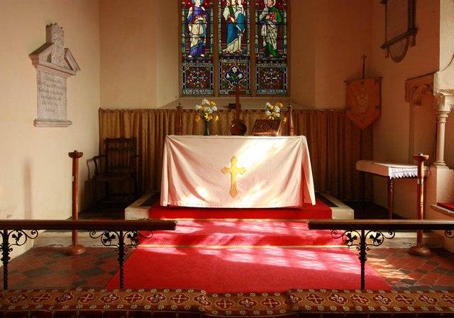 All Saints, Wood Norton - Sanctuary