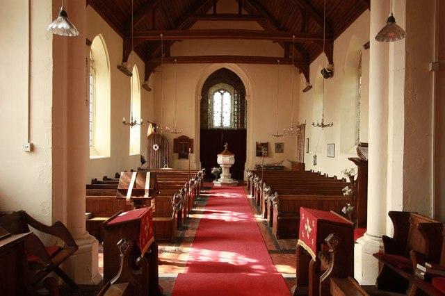 All Saints, Wood Norton - West end
