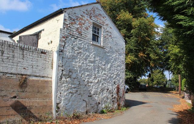 Old building, Oxford Road, Link Top, Malvern