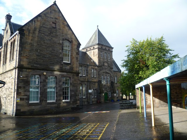 Leith Walk School playground