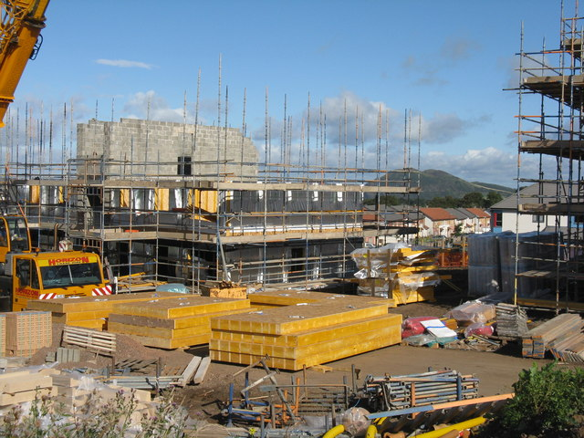 Building site at Hyvots Bank