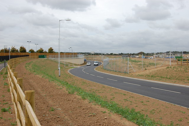 New airport link-road