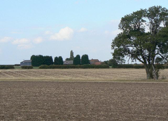 View towards Top Brackendale Farm
