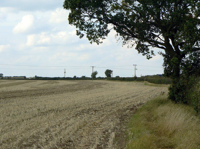 Field footpath near Cropwell Butler