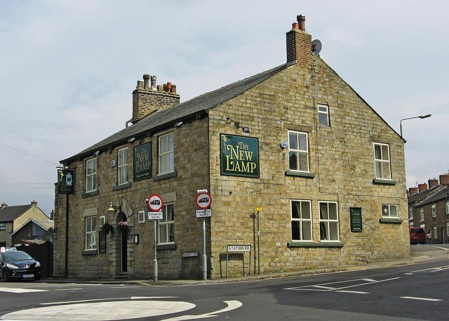 The New Lamp (1), 12 Bankbottom, Hadfield