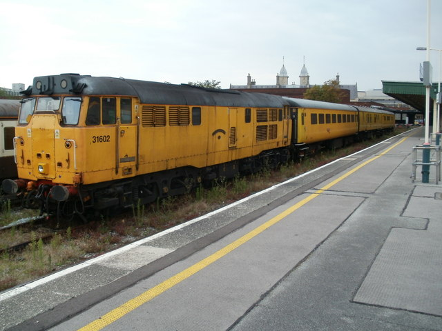 Diesel 31602 Driver Dave Green at Bristol Temple Meads