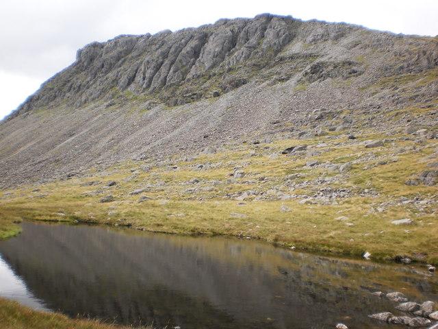 Bowfell Links  from Three Tarns