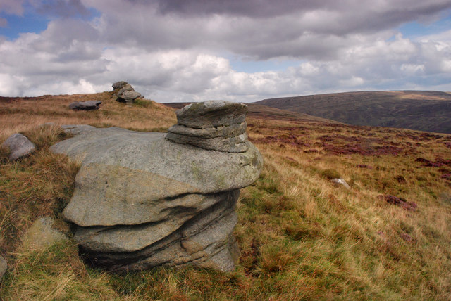 The late Summer Bowland hills