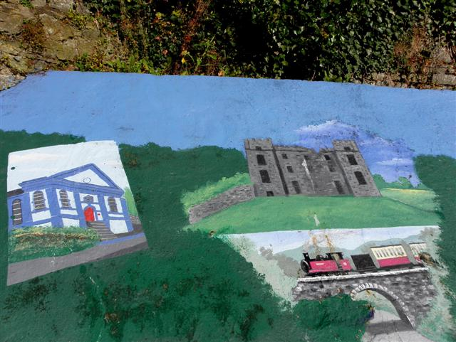 Detail of mural, Raphoe