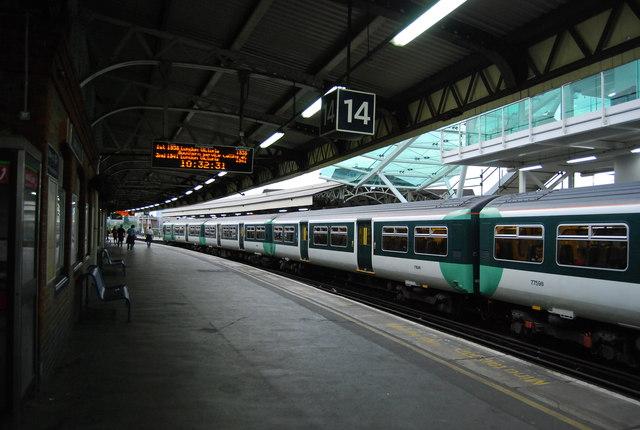 Platform 14, Clapham Junction