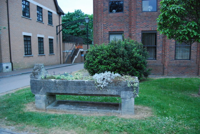 Water trough, North St