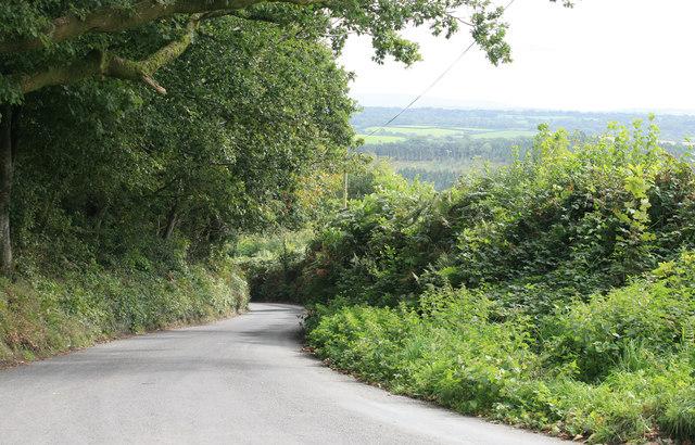 Down the Hill towards Denham Bridge