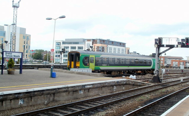 What is a London Midland City Class 153 unit doing in Bristol?