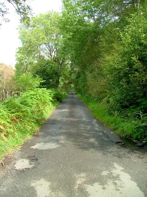 South Loch Earn road