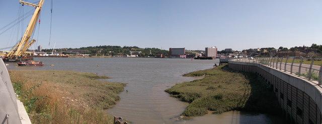 Panorama of Chatham Waterfront