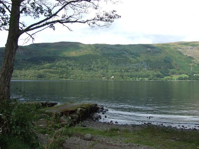 Jetty on Loch Earn
