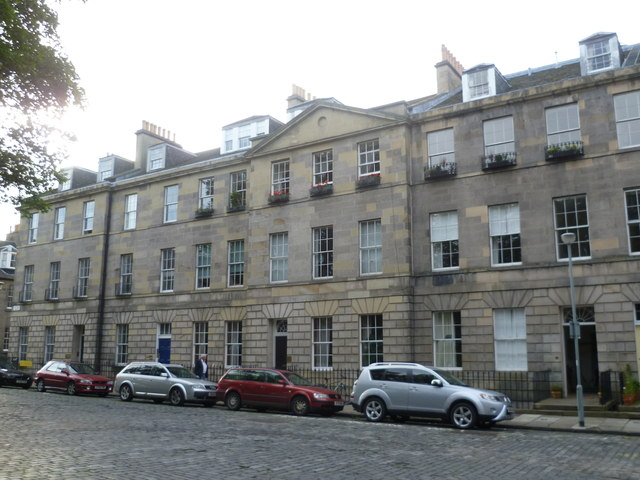 North side of Gayfield Square