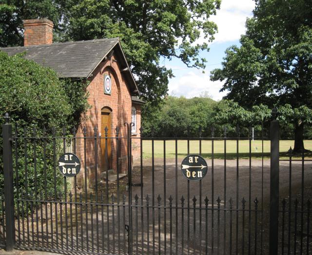 Gates and former workshop, Forest Hall