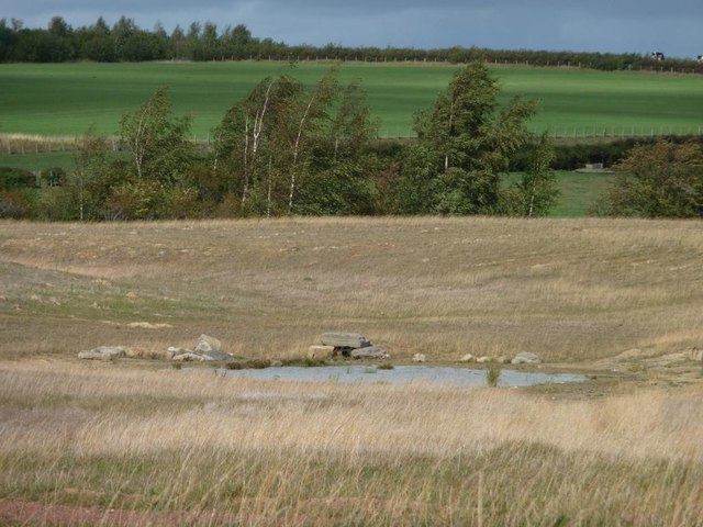 Pond on former spoil heap, former Sharlston Colliery