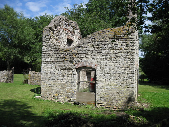 Ruined Building at Woollard Tannery