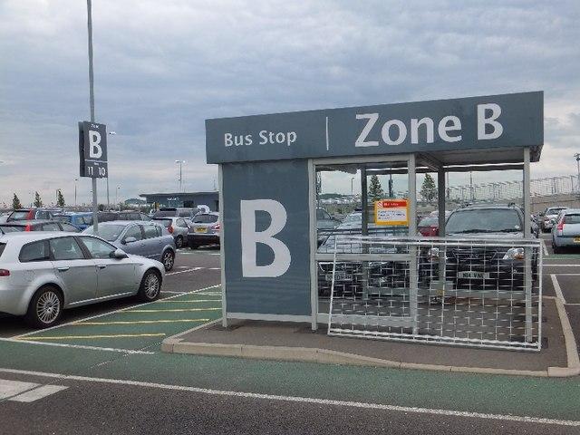 Car park for Terminal 5